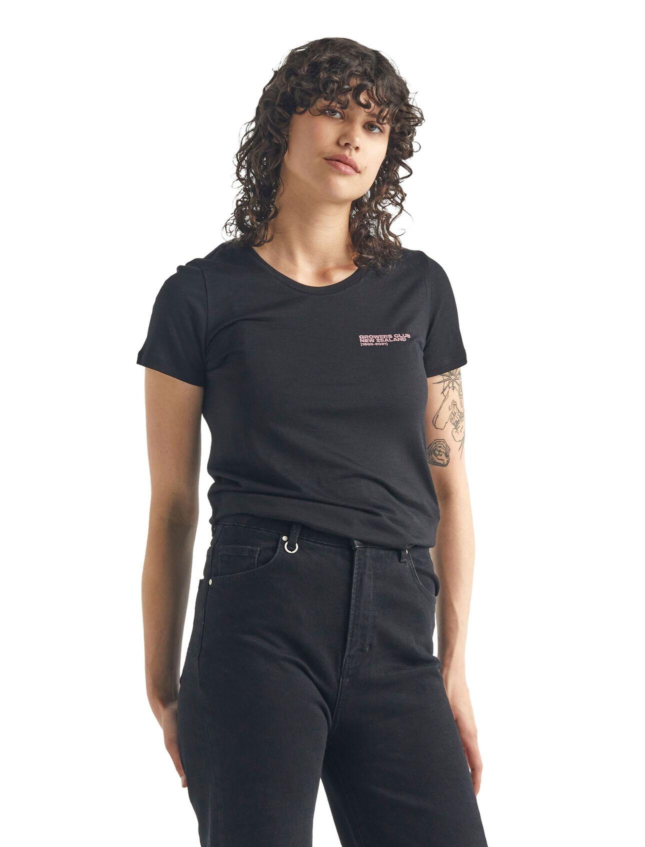 Merino Tech Lite Short Sleeve Low Crewe T-Shirt Growers Club