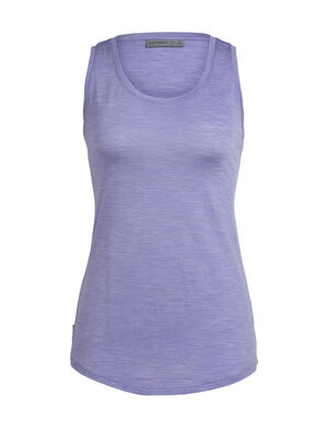 Womens Cool-Lite™ Sphere Tank A super-soft women's merino wool tank top with modern style and a low scoop neck design, the Sphere Tank is a light and comfortable summer top with our cool-lite™ jersey fabric.