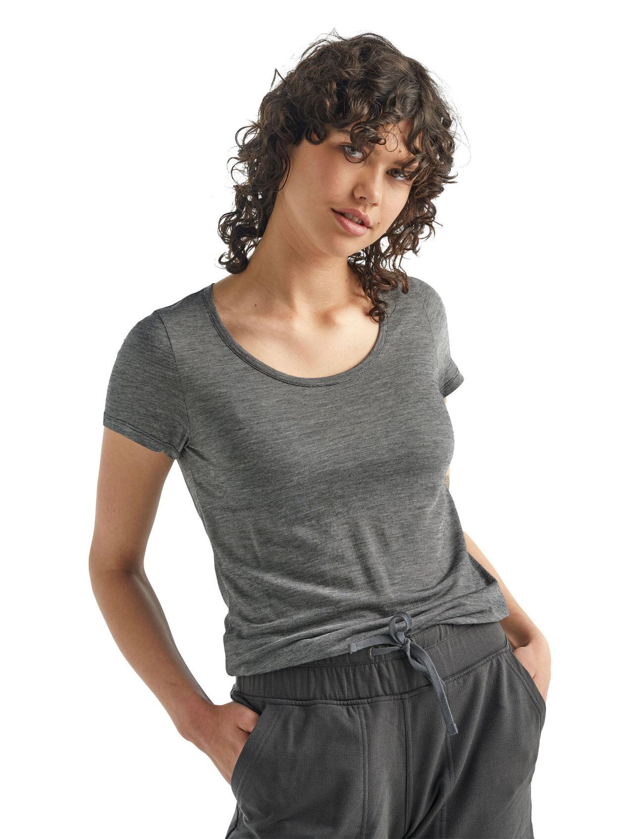 Cool-Lite™ Merino Sphere Short Sleeve Scoop Neck T-Shirt