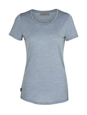 Damen Cool-Lite™ Merino Sphere kurzärmliges T-Shirt mit tiefem Rundhalsausschnitt Ein ultraleichtes T-Shirt für Reisen in warme Länder und täglichen Komfort, das kurzärmlige Sphere T-Shirt mit tiefem Rundhalsausschnitt ist aus unserem Cool-Lite™ gefertigt, einer weichen und robusten 130 g/m² Merinojersey-Mischung.