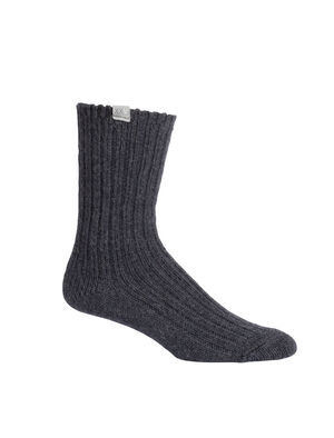 Unisex Merino icebreaker Anniversary Heritage Crew Socks Lightweight, soft, and breathable for everyday comfort, the icebreaker Anniversary Heritage Crew socks are made with a stretchy and luxurious merino wool blend.