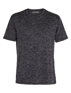 Mens Merino Dowlas Short Sleeve Crewe T-Shirt Clean, classic and made with a 100% natural fiber blend of merino wool and linen, the Dowlas Short Sleeve Crewe is an everyday favorite for lightweight comfort.