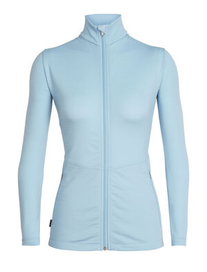 Womens Merino Victory Long Sleeve Zip Jacket  An active full-zip mid layer for cool or cold conditions, the Victory Long Sleeve Zip is warm, breathable, and comfortable thanks to our corespun merino blend fabric.