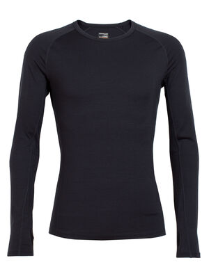Mens BodyfitZONE™ Zone Long Sleeve Crewe A lightweight men's merino wool baselayer shirt, the Zone Long Sleeve Crewe features strategic mesh panels for active ventilation.