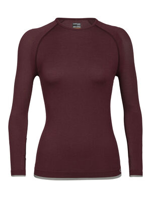 Merino 200 Zone Seamless Long Sleeve Crewe Thermal Top
