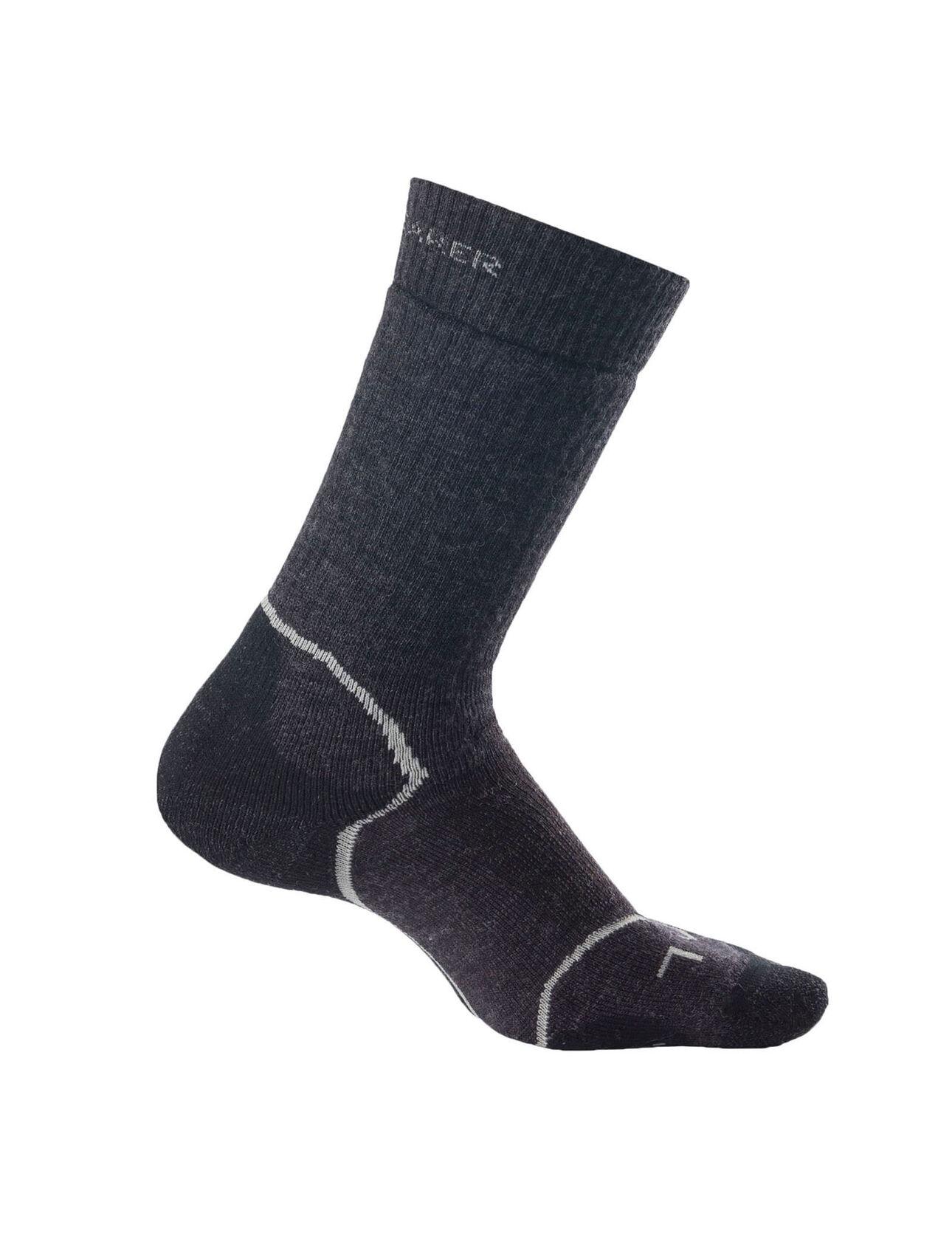 美丽诺羊毛Hike+中厚中筒徒步袜