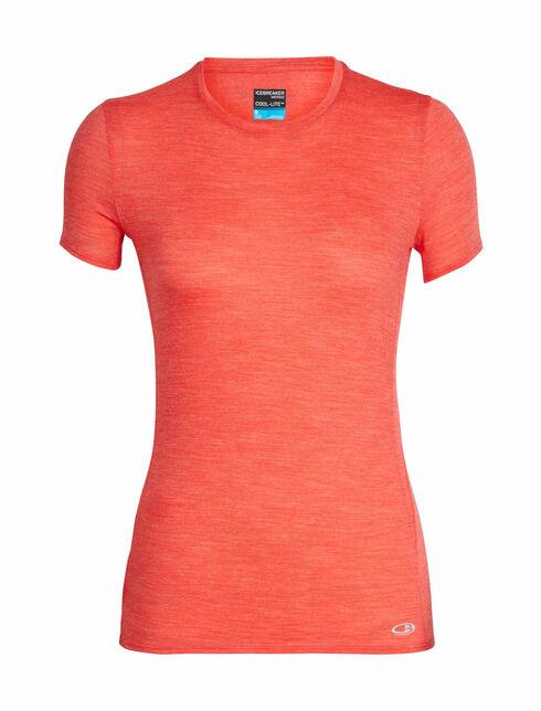 Cool-Lite™ Amplify短袖中低圆领上衣
