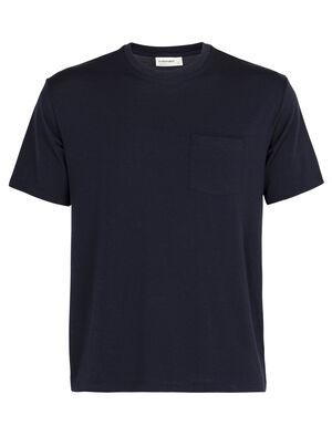 美丽诺羊毛150短袖圆领T恤(带口袋)