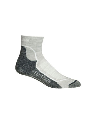 Womens Hike+ Light Mini Lightweight high-performance womens merino wool hiking socks with added stability and support, the Hike+ Light Mini  features a soft and durable merino blend.