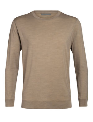 Mens Nature Dye Drayden Long Sleeve Crewe A natural moisture-wicking men's T-shirt made with an odor-resistant merino wool blend, the nature dye Drayden Long Sleeve Crewe balances performance with style.
