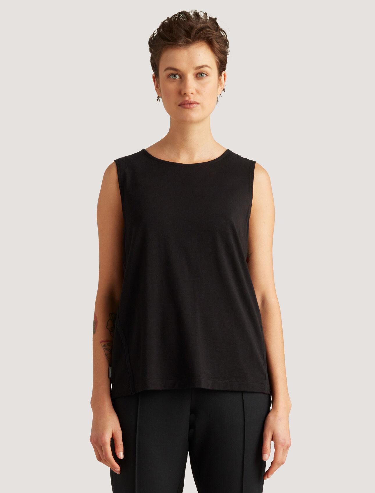 icebreaker City Label Merino Square Vest Top