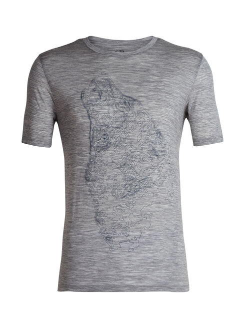 Men's Tech Lite Short Sleeve Crewe Contour Wolf
