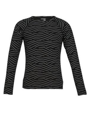 儿童款 200 Oasis长袖圆领上衣 Napasoq Lines 200 Oasis长袖圆领上衣(Napasoq Lines )以天然柔软和透气的100%美丽诺羊毛制成,无论作为寒冷天气中的保暖层还是日常叠搭单品都十分合适。