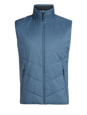 Homme MerinoLOFT™ Helix Vest Veste-doudoune à base de laine mérinos durable et de matériaux recyclés, l'Helix Vest pour homme est une couche intermédiaire qui apporte chaleur et polyvalence au quotidien, l'hiver.
