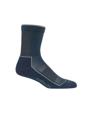 Mens Cool-Lite™ Merino Hike 3Q Crew Socks Ultralight mens merino wool hiking socks for warm-weather comfort on the trails, the Hike Cool-Lite™ 3/4 Crew are soft, durable, and breathable.
