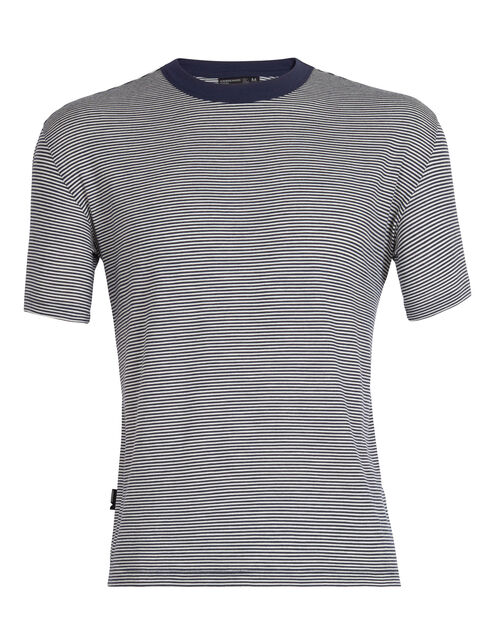 旅 TABI Luxe Lite Laid-Back Short Sleeve Crewe Stripe