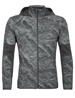 Mens MerinoLoft™ Headwaters Hybrid Hooded Jacket A highly breathable and weather-resistant insulated layer for cool-weather training and active pursuits, the Headwaters Hybrid Hooded Jacket features a durable recycled nylon outer with MerinoLoft™ insulation.