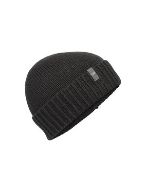 Unisex Merino Vela Cuff Beanie  A casual everyday beanie that combines classic fisherman style with a sustainable blend of merino wool and organic cotton, the Vela Cuff Beanie has warmth and comfort inspired by nature.
