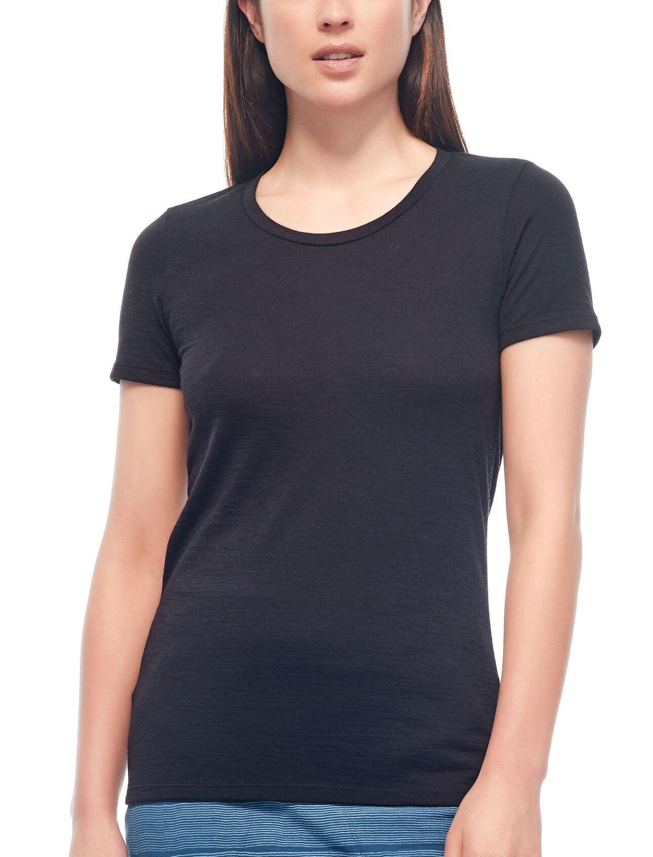 T-shirt manches courtes encolure arrondie Tech Lite