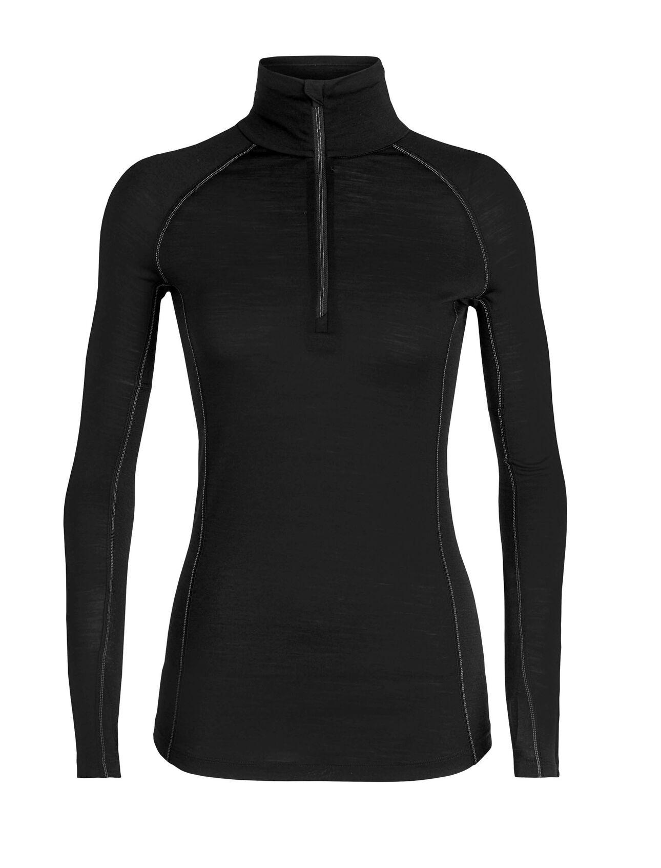 BodyFitZone™ 150 Zone长袖半拉链上衣