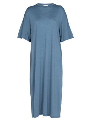 Womens Cool-Lite™ Merino Dress A relaxed-fit women's midi dress made with our breathable Cool-Lite™ fabric, the Cool-Lite™ Dress combines the natural benefits of merino with modern, natural style.