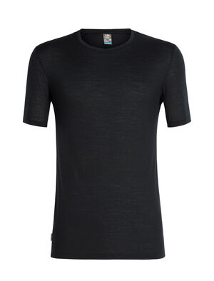 Mens Cool-Lite™ Solace Short Sleeve Crewe A classic slim-fit T-shirt for all-year-round versatility, the Solace Short Sleeve Crewe is made from Cool-Lite™, a blend of merino and natural TENCEL™