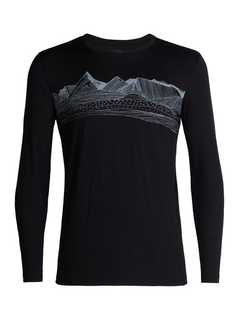 Tech Lite Long Sleeve Crewe Pyrenees