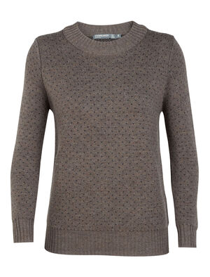 Womens Merino Waypoint Crewe Sweater Made with 100% merino wool, the Waypoint Crewe Sweater is a breathable, comfortable and warm merino sweater designed for casual winter warmth.