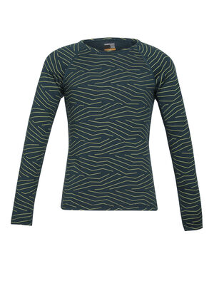 Kids Merino 200 Oasis Long Sleeve Crewe Thermal Top Napasoq Lines Perfect for cold-weather warmth or everyday layering, the 200 Oasis Long Sleeve Crewe Napasoq Lines is made with naturally soft and breathable 100% merino wool.