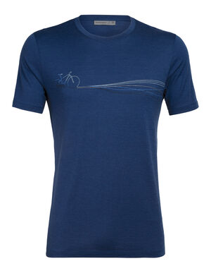 Merino Tech Lite Short Sleeve Crewe T-Shirt Cadence Paths