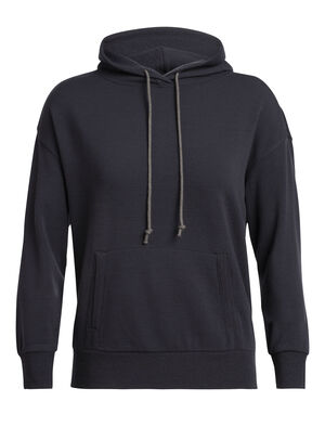 Womens RealFLEECE® Merino Pullover Hoody  An ultra-comfortable hoody designed for stylish warmth, the RealFLEECE® Long Sleeve Pullover Hoody combines soft merino RealFLEECE® with a classic hooded sweatshirt silhouette.