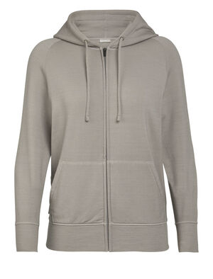 Womens Nature Dye Merino Helliers Long Sleeve Zip Hood Jacket A classic daily hooded sweatshirt made with our merino wool RealFleece® fabric, the Nature Dye Helliers Long Sleeve Zip Hood is dyed with natural plant pigments.