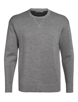 Mens Cool-Lite™ Nova Sweater Sweatshirt A lightweight, everyday men's sweater featuring a relaxed fit and our cool-lite™ merino wool blend, the Nova Sweater Sweatshirt combines a classic look with breathable, ultra-soft performance.