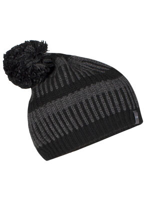 Unisex Zigfinity Pom Beanie A super-warm and comfortable hat, the Zigfinity Pom Beanie is a stylish addition to any frosty outing, with a 100% merino-wool lining for softness and fit.