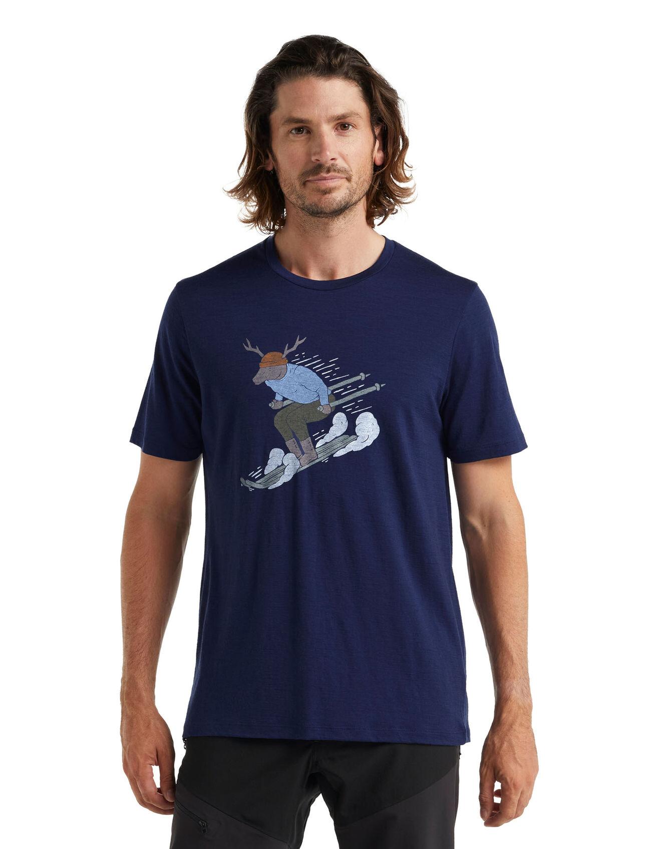 Merino Tech Lite II T-Shirt Ski Rider