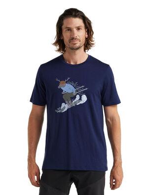 美丽诺羊毛Tech Lite II 短袖T恤(Ski Rider)