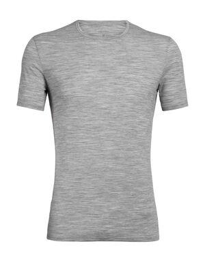Anatomica T-shirt met korte mouwen en ronde hals