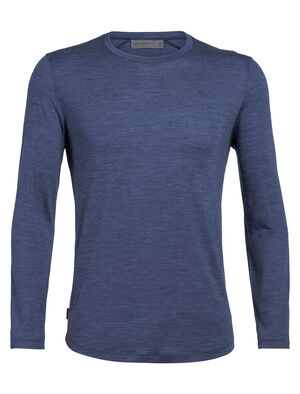 Mens Cool-Lite™ Sphere Long Sleeve Crewe An ultralight mens T-shirt for warm weather, the Sphere Long Sleeve Crewe is made from our soft and durable 130gm cool-lite™ jersey fabric.