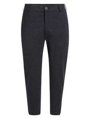Mens Merino Tech Pants Casual men's merino wool slacks that combine a sleek, modern silhouette with a comfortable, breathable and stretchy blend of merino wool and Lycra®, the Tech Pants are perfect for work or everyday comfort.