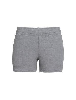 女款 Cool-Lite™ Momentum短裤 Momentum短裤选用柔软的美丽诺羊毛毛巾布面料,并融入天然TENCEL®天丝以应对高温,还加入少量LYCRA®莱卡以增加弹性,是夏日训练的理想选择。