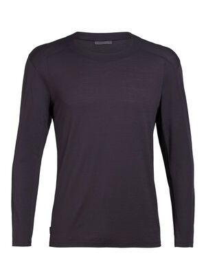 Nature Dye Merino Galen Long Sleeve Crewe T-Shirt