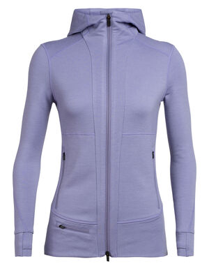 Quantum II Long Sleeve Zip Hood
