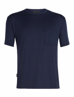 旅 TABI Tech Lite laidback Short Sleeve Pocket Crewe