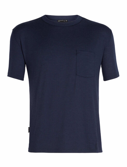 Men's 旅 TABI Tech Lite laidback Short Sleeve Pocket Crewe