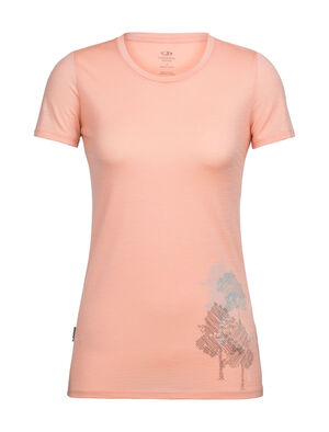 Tech Lite Short Sleeve Low Crewe Through the Forest