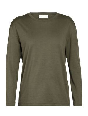 Merino Oasis Long Sleeve Crewe T-Shirt