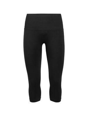 女款 Cool-Lite™ Motion Seamless 3Q Tights Motion Seamless女款七分紧身裤将创新剪裁和出众透气性能相结合,采用美丽诺羊毛混纺面料,弹力贴身,是健身房训练时穿着的理想单品。