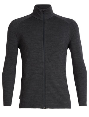 Mens Merino Victory Long Sleeve Zip Jacket  An active full-zip mid layer for cool or cold conditions, the Victory Long Sleeve Zip is warm, breathable, and comfortable thanks to our corespun merino blend fabric.
