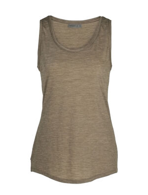 Womens Cool-Lite™ Merino Sphere Tank Top A super-soft merino top with modern style and a low scoop-neck design, the Sphere Tank is a light and comfortable summer staple made with our Cool-Lite™ jersey fabric.