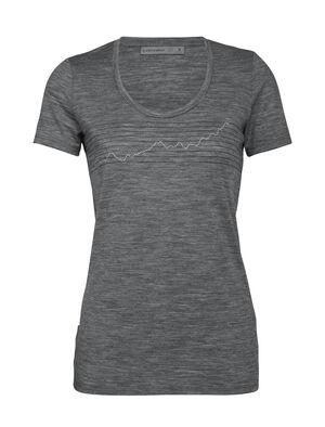 Merino Tech Lite Short Sleeve Scoop Neck T-Shirt Global Heat Index